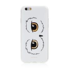 Kryt Harry Potter pro Apple iPhone 6 / 6S - gumový - oči sovy Hedviky - průhledný