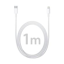 Originální Apple USB-C / Lightning kabel - 1m - bílý