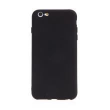 Kryt pro Apple iPhone 6 Plus / 6S Plus - příjemný na dotek - silikonový - černý