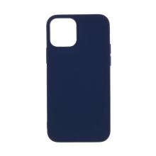 Kryt pro Apple iPhone 12 / 12 Pro - gumový - tmavě modrý