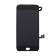 LCD panel + dotykové sklo (touch screen digitizér) pro Apple iPhone 7 - osazený černý - kvalita A
