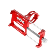 Držák na kolo GUB G-85 pro Apple iPhone - univerzální - pevný - hliník - červený