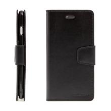 Pouzdro MERCURY Sonata Diary pro Apple iPhone 7 Plus / 8 Plus - stojánek a prostor na doklady - černé