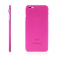 Kryt pro Apple iPhone 6 Plus / 6S Plus plastový tenký ochrana čočky růžový