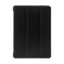 """Pouzdro / kryt pro Apple iPad 9,7 (2017-2018) / Air 1 / 2 / Pro 9,7"""" - funkce chytrého uspání - gumové - černé"""