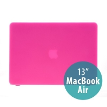 Tenký ochranný plastový obal pro Apple MacBook Air 13.3 - matný - růžový