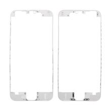 Plastový fixační rámeček pro přední panel (touch screen) Apple iPhone 6 - bílý - kvalita A+