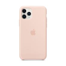 Originální kryt pro Apple iPhone 11 Pro - silikonový - pískově růžový