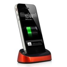 Přenosná dokovací stanice (Dock Station) pro Apple iPhone / iPod - oranžová
