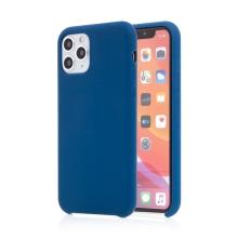 Kryt pro Apple iPhone 11 Pro - příjemný na dotek - silikonový - tmavě modrý