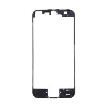 Plastový rámeček předního panelu pro Apple iPhone 5 - černý - kvalita A+