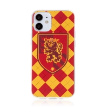 Kryt Harry Potter pro Apple iPhone 12 mini - gumový - emblém Nebelvíru