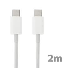 Synchronizační a nabíjecí kabel USB-C pro Apple MacBook / iPad Pro - bílý - 2m