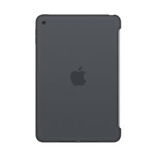 Originální kryt pro Apple iPad mini 4 - výřez pro Smart Cover - silikonový - uhlově šedý