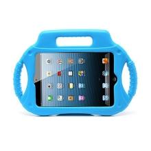 Ochranné pěnové pouzdro pro děti na Apple iPad mini / mini 2 / mini 3 s rukojetí a stojánkem - modré