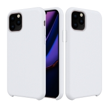 Kryt pro Apple iPhone 11 Pro Max - příjemný na dotek - silikonový - bílý