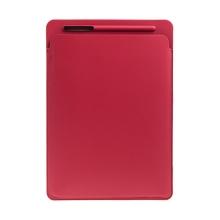 Pouzdro / obal pro Apple iPad Pro 12,9 / 12,9 (2017) - kapsa na Apple Pencil - umělá kůže - červené