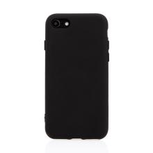 Kryt pro Apple iPhone 7 / 8 / SE (2020) - silikonový - černý