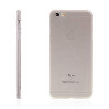 Kryt pro Apple iPhone 6 Plus / 6S Plus plastový tenký ochrana čočky šedý