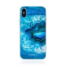 Kryt BABACO pro Apple iPhone X / Xs - gumový - akvamarín