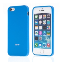 Kryt ROAR pro Apple iPhone 5 / 5S / SE - gumový - modrý