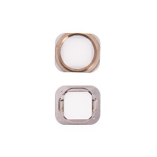 Tlačítko Home Button pro Apple iPhone 6 / 6 Plus - bílo-zlaté - kvalita A