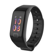 Sportovní fitness náramek LEMONDA - tlakoměr / krokoměr / měřič tepu - Bluetooth - vodotěsný - černý