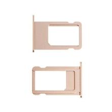 Rámeček / šuplík na Nano SIM pro Apple iPhone 6S Plus - zlatý (gold) - kvalita A+