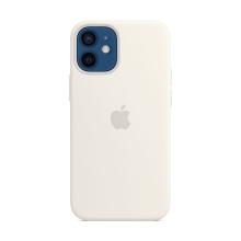Originální kryt pro Apple iPhone 12 mini - silikonový - bílý