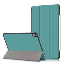 Pouzdro / kryt pro Apple iPad Air 4 (2020) - funkce chytrého uspání - umělá kůže - zelené