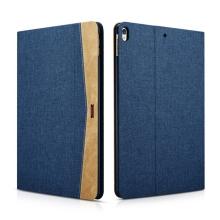 """Pouzdro XOOMZ pro Apple iPad Pro 10,5"""" / Air 10,5"""" (2019) - stojánek + funkce chytrého uspání - látkové - modré"""
