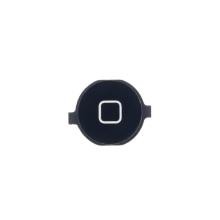 Tlačítko Home Button pro Apple iPhone 4 - černé - kvalita A
