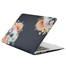 """Obal / kryt pro Apple Macbook Pro Retina 15"""" 2016 - 2019 (A1707, A1990) - květiny"""