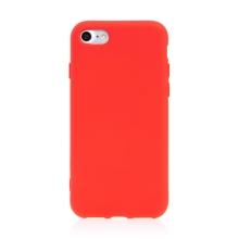 Kryt pro Apple iPhone 7 / 8 / SE (2020) - silikonový - červený
