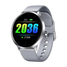 Fitness chytré hodinky LEMONDA Y9 - tlakoměr / krokoměr / měřič tepu - Bluetooth - stříbrné