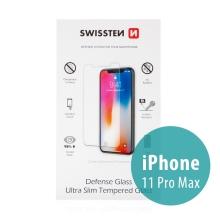 Tvrzené sklo (Tempered Glass) SWISSTEN pro Apple iPhone Xs Max / 11 Pro Max - na přední část - odolné - 0,3mm
