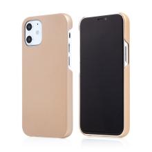Kryt pro Apple iPhone 12 mini - plastový - měkčený povrch - zlatý