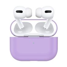 Pouzdro pro Apple AirPods Pro - silikonové - fialové