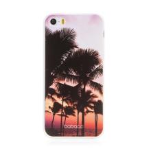 Kryt BABACO pro Apple iPhone 5 / 5S / SE - gumový - paradise