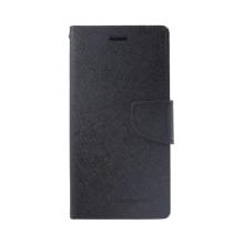 Pouzdro Mercury Fancy Diary pro Apple iPhone Xr - stojánek a prostor na doklady - černé