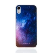 Kryt BABACO pro Apple iPhone Xr - gumový - galaxie