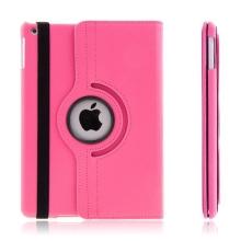Pouzdro pro Apple iPad Air 1.gen. - 360° otočný držák / stojánek - růžové