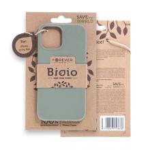 Kryt FOREVER BIOIO - pro Apple iPhone 12 Pro Max - Zero Waste kompostovatelný kryt - khaki zelený