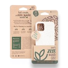 Kryt FORCELL BIO - pro Apple iPhone 12 / 12 Pro - Zero Waste kompostovatelný kryt - přírodní