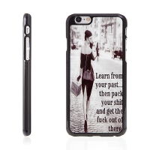 Plasto-kovový kryt pro Apple iPhone 6 / 6S - Cool Lady