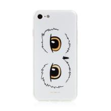 Kryt Harry Potter pro Apple iPhone 7 / 8 / SE - gumový - oči sovy Hedviky - průhledný
