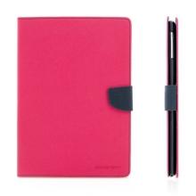 Ochranné pouzdro se stojánkem a prostorem pro platební karty pro Apple iPad Air 1.gen. - růžovo-modré