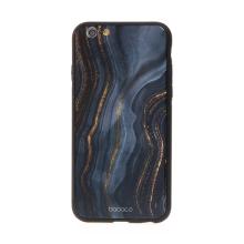 Kryt BABACO pro Apple iPhone 6 / 6S - skleněný - noční mramor