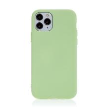 Kryt pro Apple iPhone 11 Pro - příjemný na dotek - silikonový - zelený
