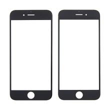 Přední sklo pro Apple iPhone 6 - černé - kvalita A
